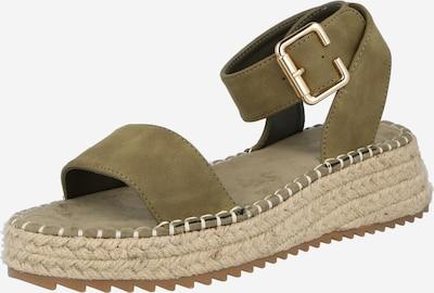 ABOUT YOU Sandale 'Melody' u bež / kaki, Pregled proizvoda
