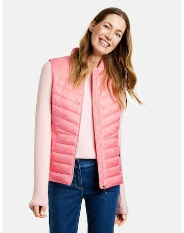 GERRY WEBER Vest in Pink