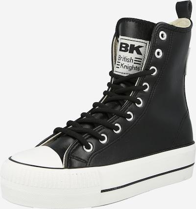 Sneaker înalt 'KAYA' BRITISH KNIGHTS pe negru / alb, Vizualizare produs