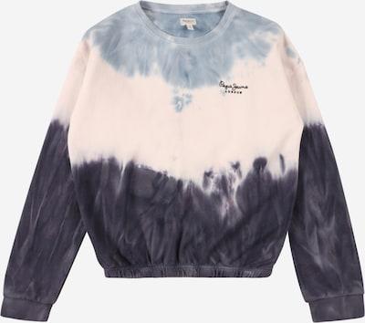 Pepe Jeans Sweat-shirt 'TRACY' en bleu marine / bleu clair / noir / blanc, Vue avec produit