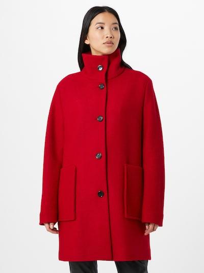 BOSS Manteau mi-saison 'Oktober' en rouge, Vue avec modèle