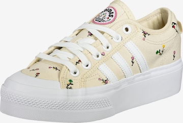 ADIDAS ORIGINALS Sneaker 'Nizza' in Beige
