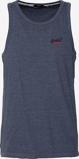 Superdry Tričko - noční modrá / červená, Produkt