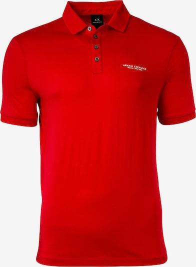 ARMANI EXCHANGE Poloshirt in rot / weiß, Produktansicht
