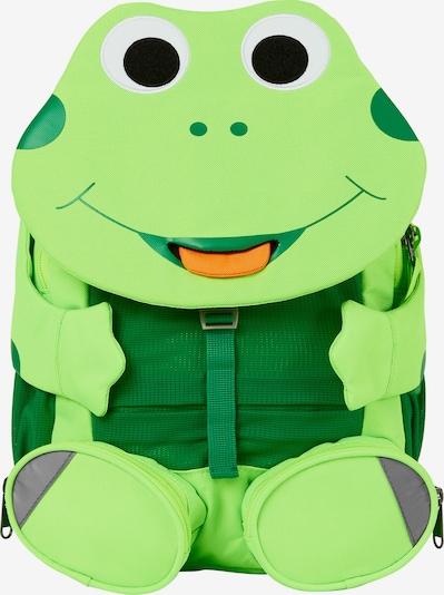 Affenzahn Rugzak 'Großer Freund Frosch' in de kleur Limoen / Grasgroen, Productweergave