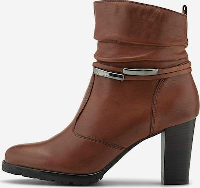 COX Klassische Stiefeletten 'Leder-Stiefelette' in braun, Produktansicht