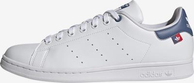 ADIDAS ORIGINALS Sneakers laag 'Stan Smith' in de kleur Duifblauw / Robijnrood / Wit, Productweergave
