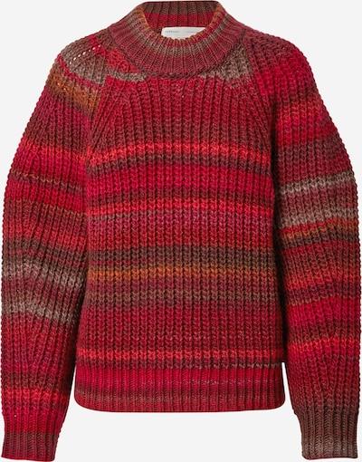InWear Pullover 'Effie' in pflaume / bordeaux / hellrot, Produktansicht
