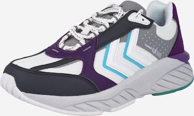 Scarpa sportiva Hummel di colore blu / grigio / lilla scuro / bianco, Visualizzazione prodotti