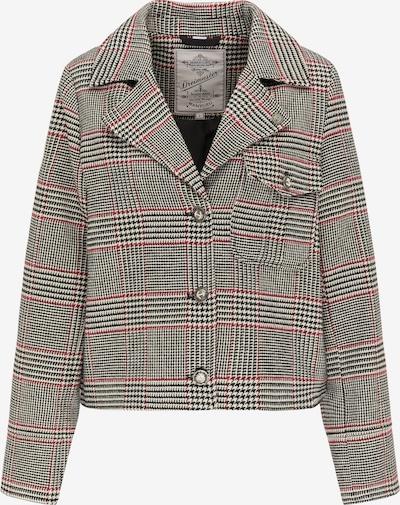 DreiMaster Vintage Blazer in grau / rot / schwarz, Produktansicht