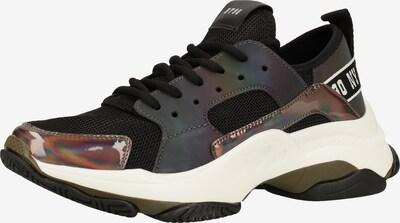 STEVE MADDEN Sneaker in schwarz / silber, Produktansicht