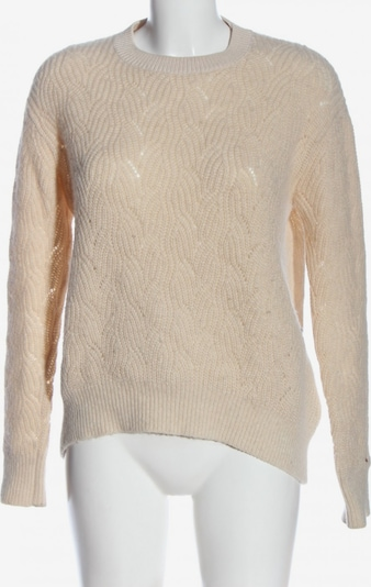 TOMMY HILFIGER Oversized Pullover in XS in creme, Produktansicht