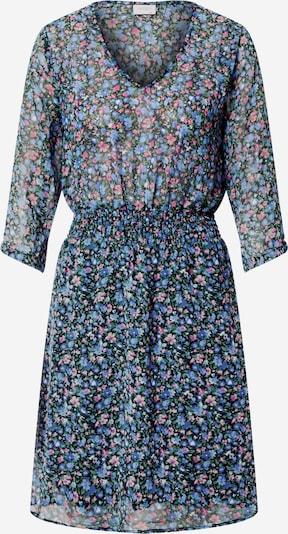 JACQUELINE de YONG Kleid 'Anne' in blau / grün / rosa / schwarz, Produktansicht