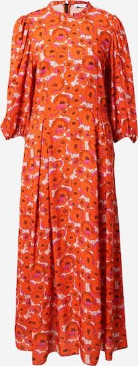 Hofmann Copenhagen Kleid 'Carly' in orange / dunkelorange / pink / schwarz / weiß, Produktansicht