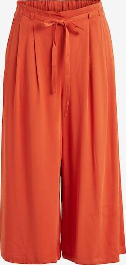 VILA Hlače z naborki 'Vero' | oranžno rdeča barva, Prikaz izdelka