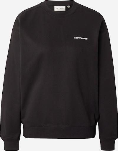 Carhartt WIP Sudadera en negro / blanco, Vista del producto