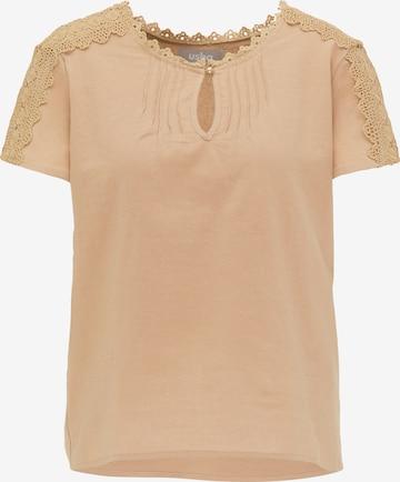 Usha Shirt in Beige