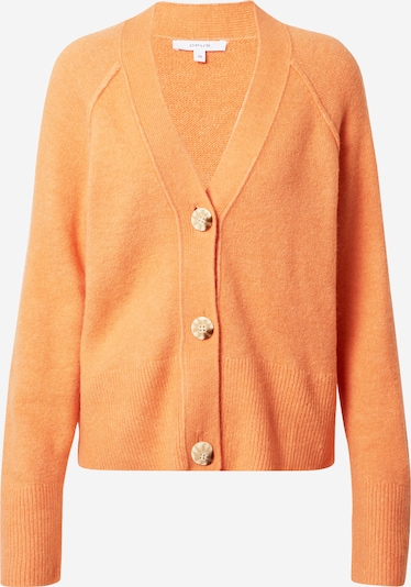 OPUS Gebreid vest 'Disona' in de kleur Lichtoranje, Productweergave