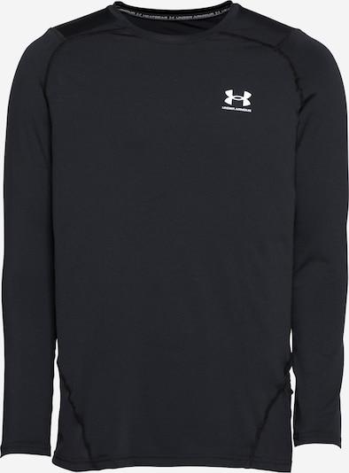UNDER ARMOUR T-Shirt fonctionnel en noir / blanc, Vue avec produit