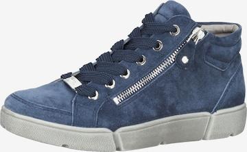 ARA High-Top Sneakers in Blue
