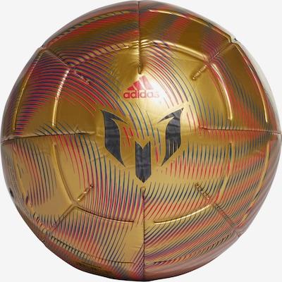 ADIDAS PERFORMANCE Ball in gold / schwarz, Produktansicht