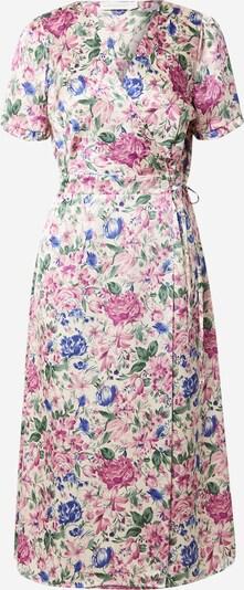 La petite étoile Kleid in creme / royalblau / smaragd / orchidee / helllila, Produktansicht