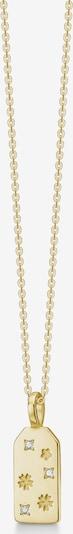 Polar Jewelry Ketting 'Flower Necklace' in de kleur Goud, Productweergave