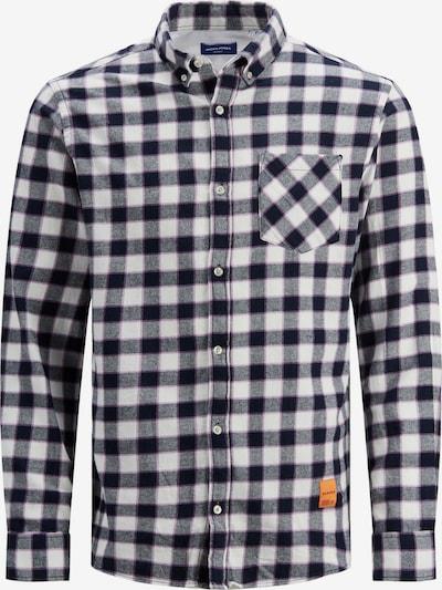 JACK & JONES Hemd in navy / lila / orange / weiß, Produktansicht