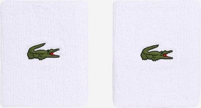 Lacoste Sport Potítko - zelená / biela, Produkt