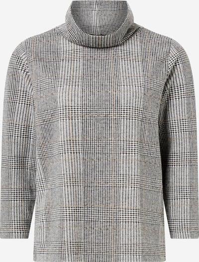 MORE & MORE Sweat-shirt en camel / écru / gris, Vue avec produit