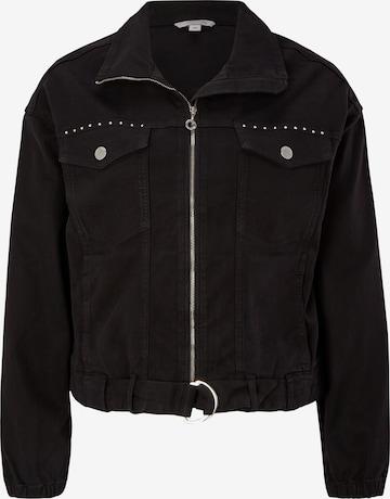 comma casual identity Between-Season Jacket in Black