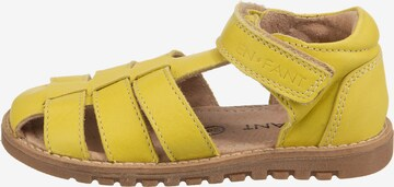 EN FANT Sandale 'PLAIN BIG' in Gelb