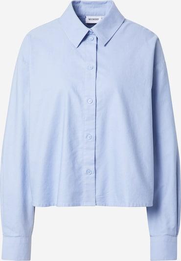 WEEKDAY Blusa 'Beam' en azul claro, Vista del producto