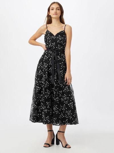 Forever Unique Večerné šaty - čierna / biela, Model/-ka