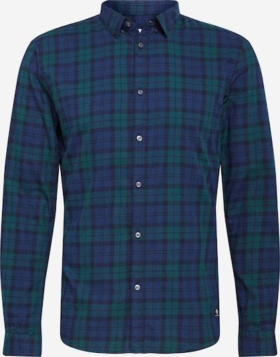 TOM TAILOR DENIM Camisa en azul oscuro / verde oscuro, Vista del producto