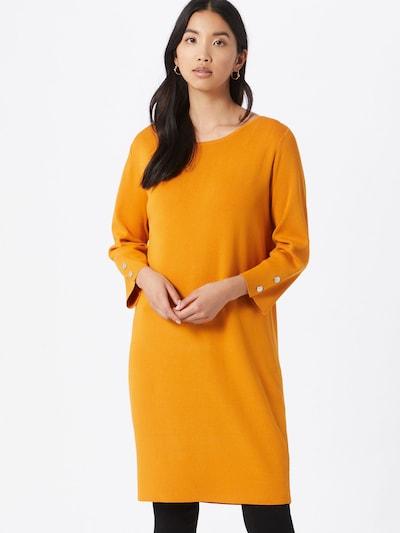 COMMA Úpletové šaty - žlutá, Model/ka