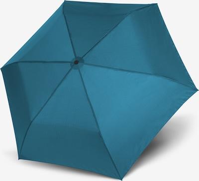 Doppler Taschenschirm in blau, Produktansicht
