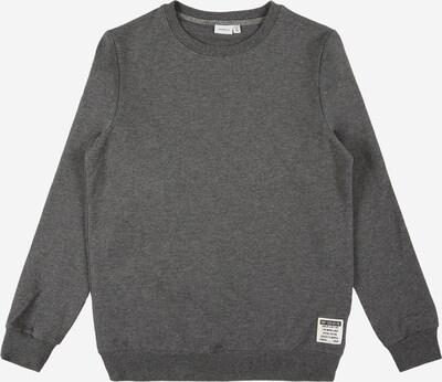 NAME IT Sweat 'HONK' en gris foncé, Vue avec produit