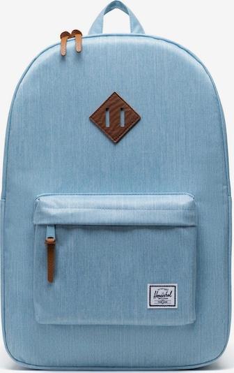 Rucsac 'Heritage' Herschel pe albastru denim / maro, Vizualizare produs