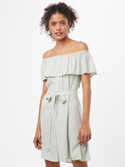 ABOUT YOU Kleid 'Lotta' in grün / weiß, Modelansicht