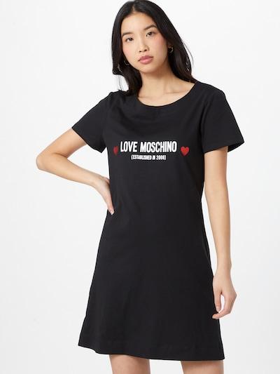 Love Moschino Kleid in schwarz / weiß, Modelansicht