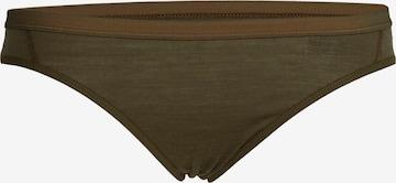 Pantaloncini intimi sportivi 'Siren' di ICEBREAKER in verde