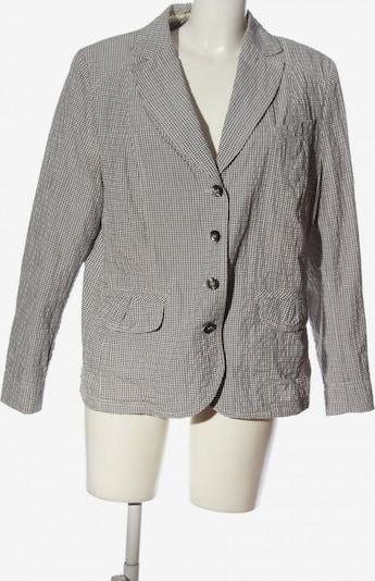 Gelco Klassischer Blazer in XXXL in braun / weiß, Produktansicht