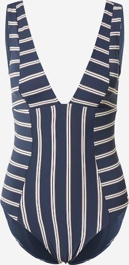 ROXY Badeanzug in taubenblau / bronze / weiß, Produktansicht