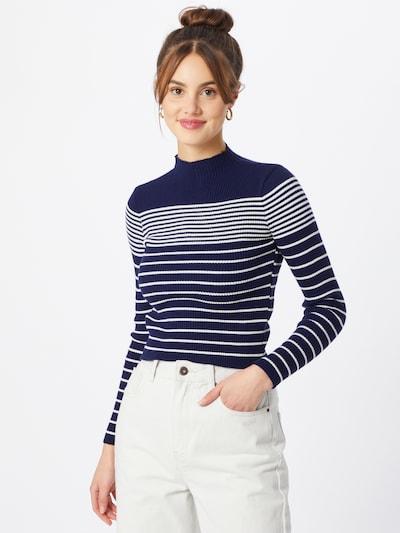 Trendyol Trui in de kleur Navy / Wit, Modelweergave