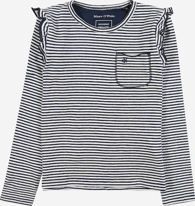 Marc O'Polo Junior Shirt in de kleur Navy / Wit, Productweergave