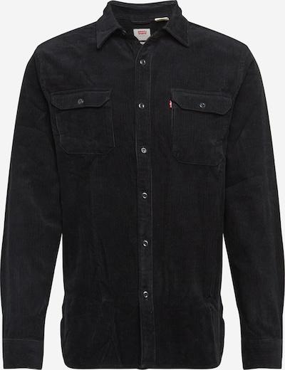LEVI'S Hemd 'Jackson Worker' in schwarzmeliert, Produktansicht