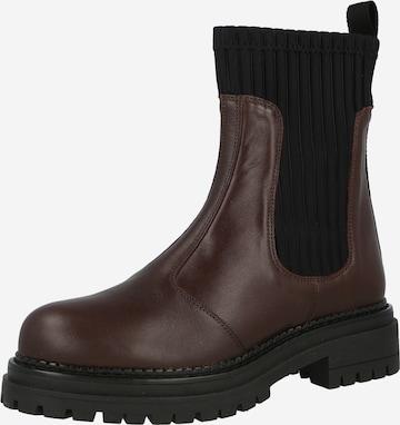 Ca'Shott Chelsea Boots in Braun