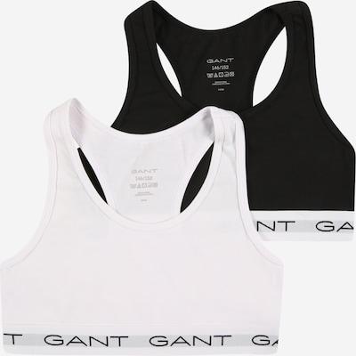 GANT Soutiens-gorge en gris / noir / blanc, Vue avec produit