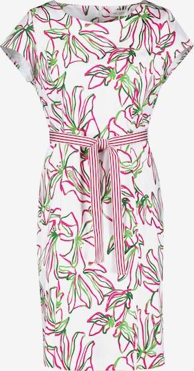 GERRY WEBER Kleid in kiwi / pink / weiß, Produktansicht